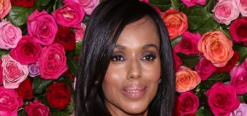 Kerry Washington in Versace at the Tony Awards: amazing or mullet-fug?