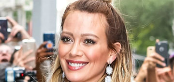 Hilary Duff's son wants to name his sister Cofant Croissant