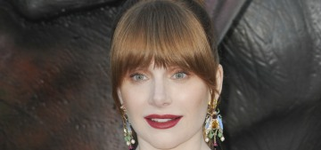 We need to have a conversation about Bryce Dallas Howard's bangs