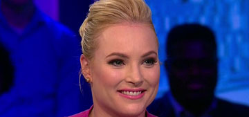 Meghan McCain: My mom bugs me to have a baby, but my dad doesn't care