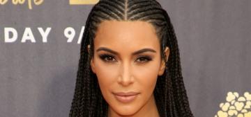 Kim Kardashian was still culturally appropriating at the MTV Movie Awards