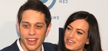 Pete Davidson and Cazzie David were 'on a break' when he started seeing Ariana Grande