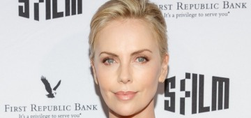 L&S: Charlize Theron & Alexander Skarsgard might be hooking up again?