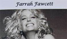 Private funeral held yesterday for Farrah Fawcett