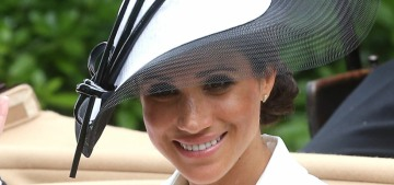 Duchess Meghan wore Givenchy for her first trip to the Royal Ascot