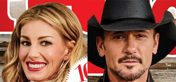 Faith Hill and Tim McGraw cover People, say they watched TV for 20th anniversary