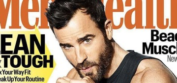 Justin Theroux on his tattoos: 'I don't put a lot of thought into mine'