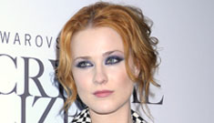 Evan Rachel Wood told Bono that his music is depressing