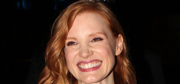 Jessica Chastain got a layered bob: cute and summery?