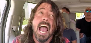 Dave Grohl got a WTF text from James Corden for criticizing Carpool Karaoke