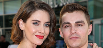 Alison Brie & Dave Franco wrote their wedding vows separately, said the same things