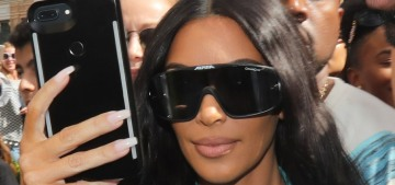 Kim Kardashian returned to Paris for the first time since her 2016 robbery
