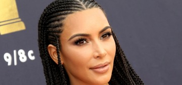 Kim Kardashian: 'I obviously know they're called fulani braids & I know the origin'