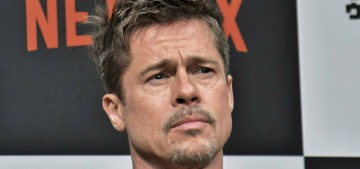 People: Brad Pitt 'looks like he has aged in reverse' now, because sure, okay