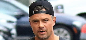 Josh Duhamel & Eiza González were papped out together again for some reason