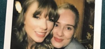 Taylor Swift hung out backstage with Adele & JK Rowling at her London concert