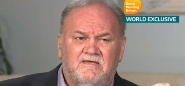 Thomas Markle is still calling up TMZ to complain about being frozen out