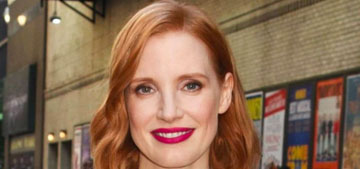 Jessica Chastain shows off four different looks this week