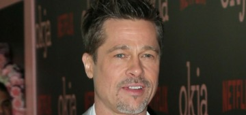 ET: Brad Pitt isn't 'looking to leap into a serious relationship at the moment'