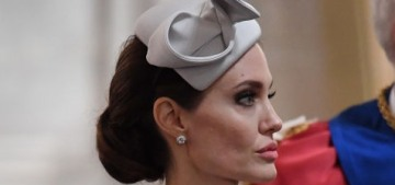 Angelina Jolie steps out at St. Paul's Cathedral in London for a royal event