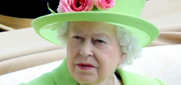 Is Queen Elizabeth working too much or is she just setting up an alibi?