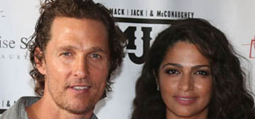 Matthew McConaughey on meeting his wife: 'the clock was ticking, I was about to be 40'