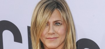 Us Weekly: Jennifer Aniston is being 'wooed' by a 'tech titan' & an 'industry creative'