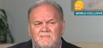 Us Weekly: Ugh, Thomas Markle thinks the royals should be 'standing by his side'