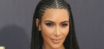 Kim Kardashian & Kanye West vacationed in Idaho for the 4th of July holiday
