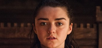 Maisie Williams says goodbye to Arya Stark with a photo of bloody shoes, hm…
