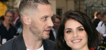 Tom Hardy and his wife Charlotte Riley are expecting their second child