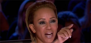 Mel B was sexually harassed on TV, some people are defending her harasser