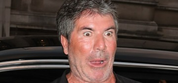 Just FYI, Simon Cowell looks like this now & he's still with Lauren Silverman