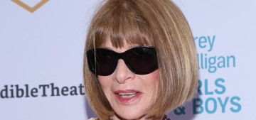 """So is Anna Wintour going to leave Vogue this summer or nah?"" links"