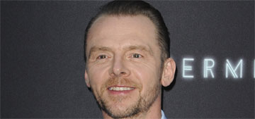 Simon Pegg reveals battle with alcoholism: 'You are micromanaged by it'
