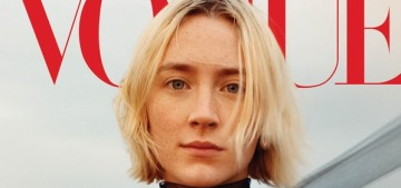 Saoirse Ronan talks about Irish abortion rights & fame with Vogue