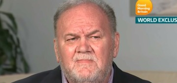 Thomas Markle continues to sell out his daughter and beg her for access