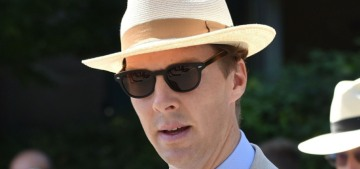 Benedict Cumberbatch & Tom Hiddleston attended the Wimbledon men's final
