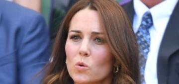 Duchess Kate wore yellow Dolce & Gabbana to the Wimbledon men's final
