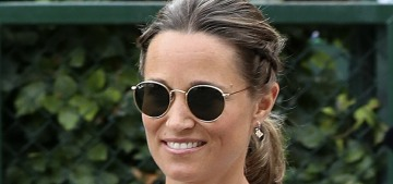 Pippa Middleton wore one of the worst maternity looks to Wimbledon last week