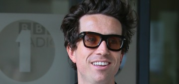 Nick Grimshaw thinks Angelina Jolie is 'cold' and 'lying to the nation'