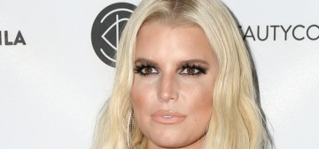 """Surely Jessica Simpson could afford a better quality wig?"" links"