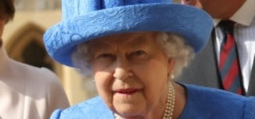 """Was the Queen making a political statement with her brooches?  Eh"" links"