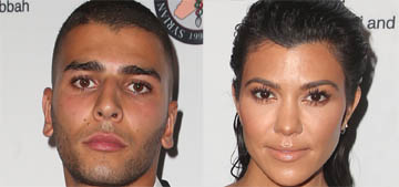 Kourtney Kardashian's young boyfriend complains about her doing her job
