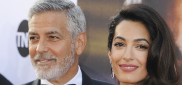 Amal Clooney wouldn't leave George's side in the days after his motor-scooter crash
