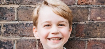 Kensington Palace released a new portrait of Prince George for his fifth birthday