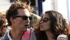 Moms to Matthew McConaughey & Camila Alves: get married already!