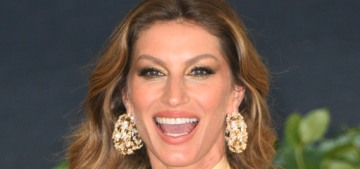 Gisele Bundchen was forced into eating a real, chocolatey, sugary birthday cake