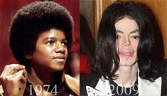 Michael Jackson's amazing plastic surgery transformation timeline