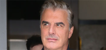 Chris Noth is looking good at 63 and Sarah Jessica Parker notices